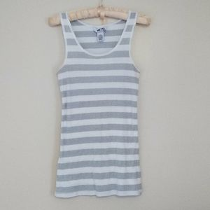 Kirra Striped Tank Top Size Large from Pacsun